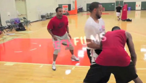 Kevin Durant and Joe Johnson Workout